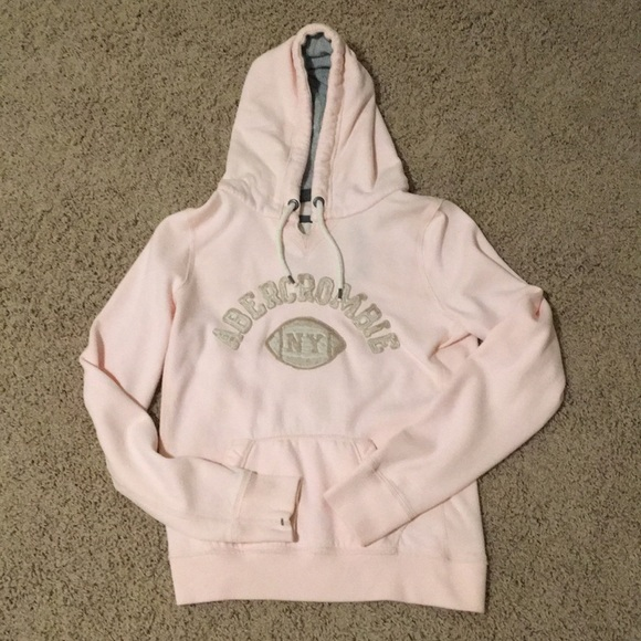Abercrombie & Fitch Tops - Light Pink Abercrombie Hoodie